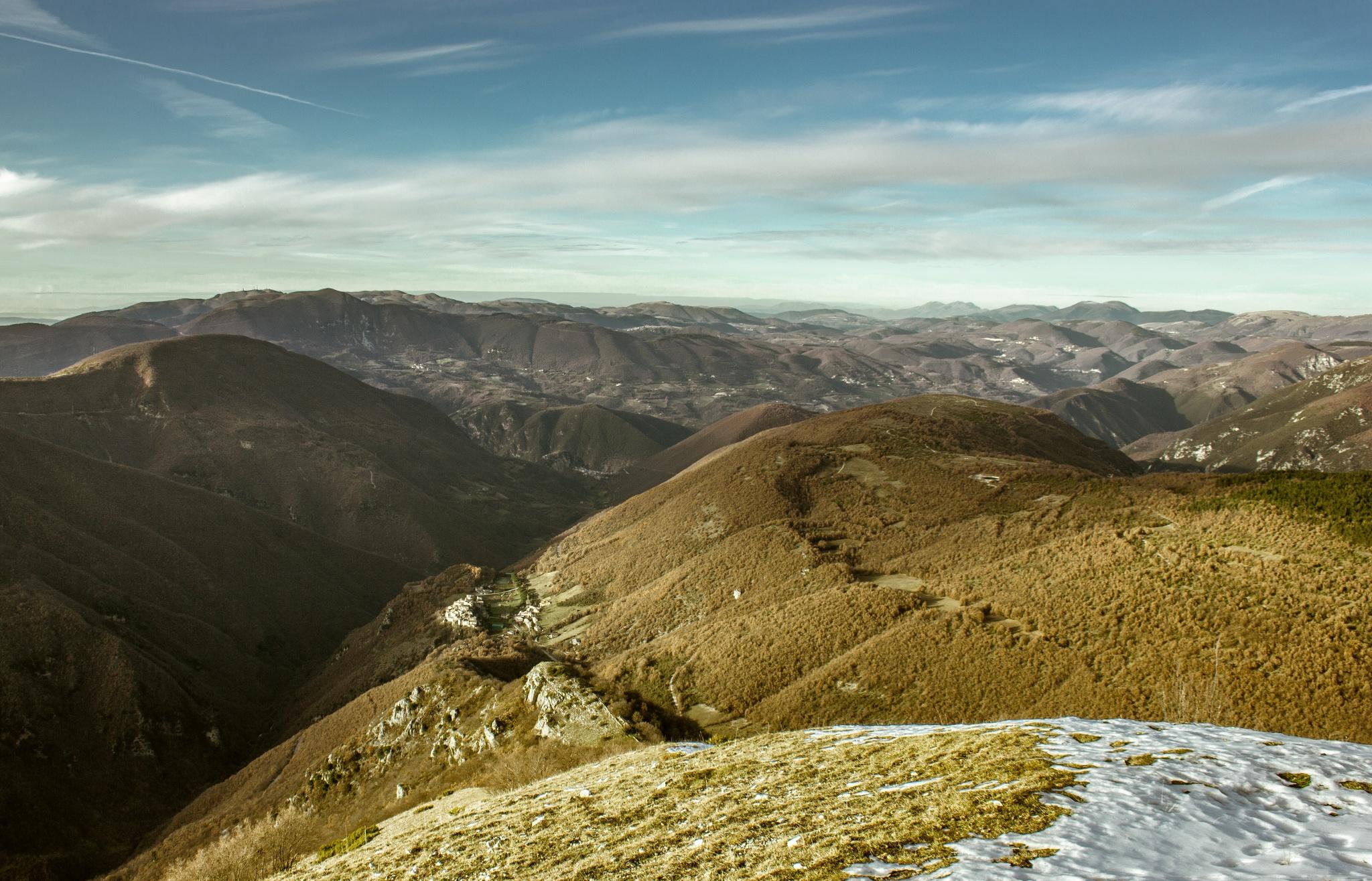 Ascesa a Monte Maggio e Monte Porretta in Mountain bike