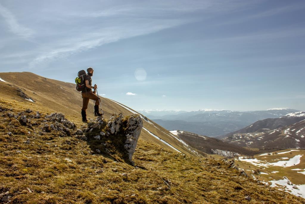 Alla conquista del Monte Pizzuto, la cima più alta di Cascia (1903 m.s.l.m)